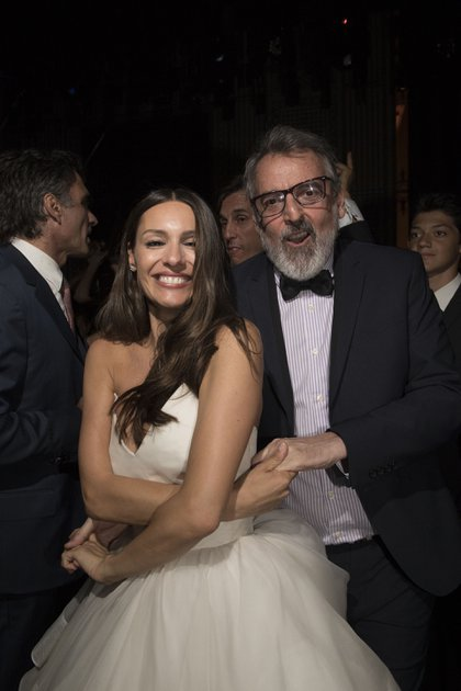 Con Benito Fernández