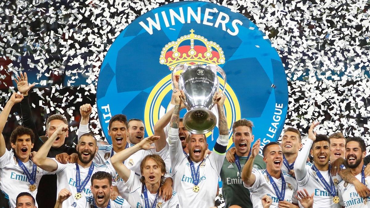 83b7ba4312739 Real Madrid venció al Liverpool en Kiev y ganó su tercer título de la Champions  League en fila - Infobae