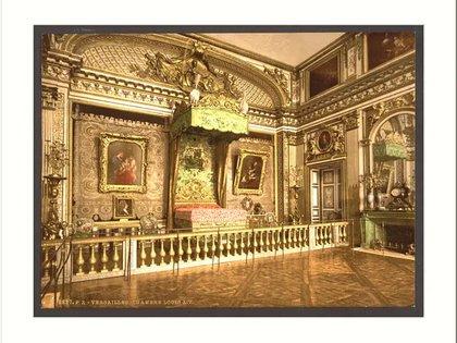 Versalles cama de Luis XIV