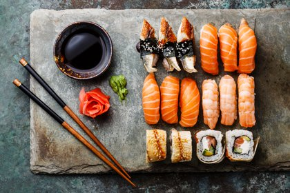 La combinación de sabores depende de la habilidad y creatividad del sushiman