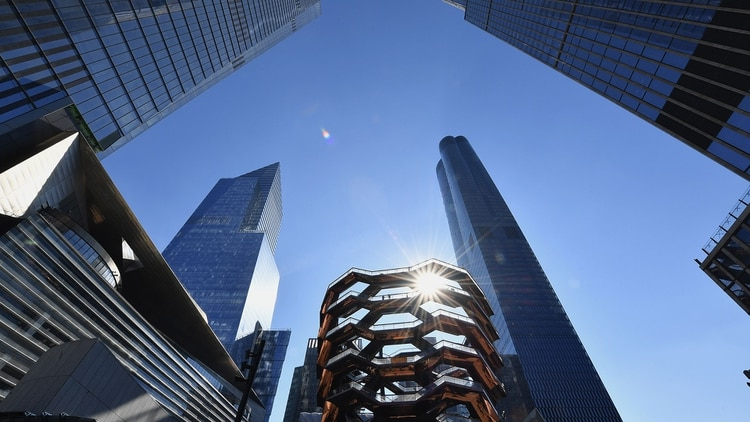 Hudson Yards, en el oeste de Manhattan (AFP)
