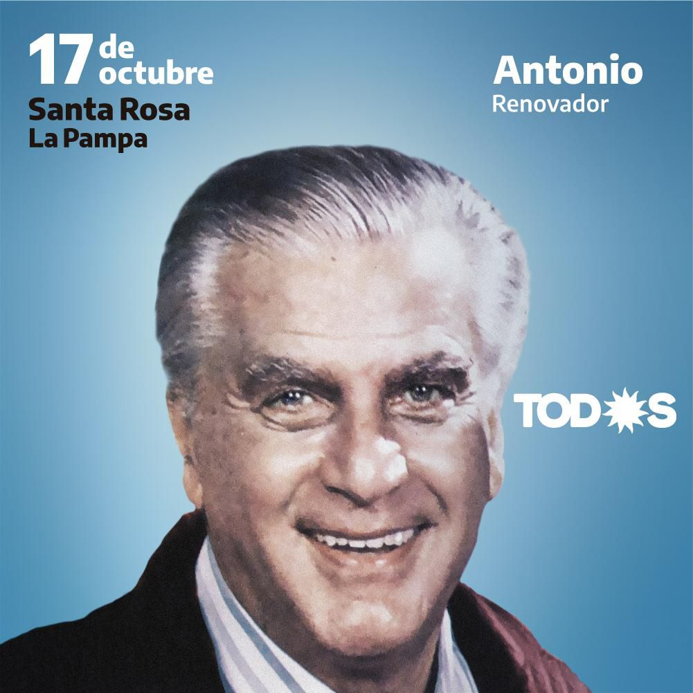 Antonio Cafiero, uno de los históricos que recordarán esta tarde