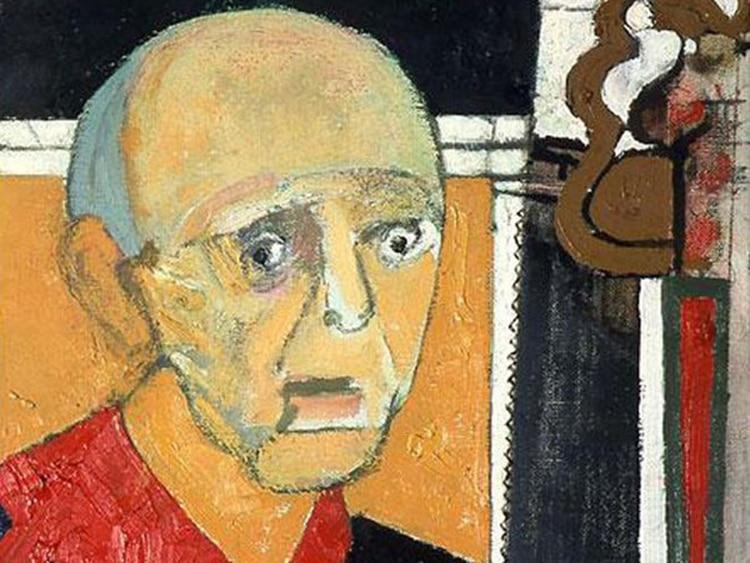Autorretrato del Alzheimer - Infobae
