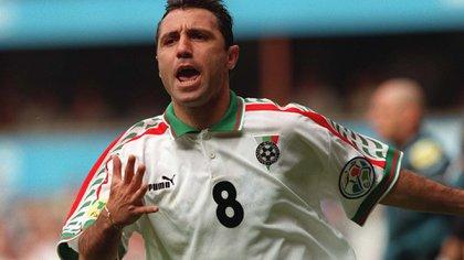 Stoichkov es uno de los mejores jugadores del fútbol búlgaro de todos los tiempos (Shutterstock)