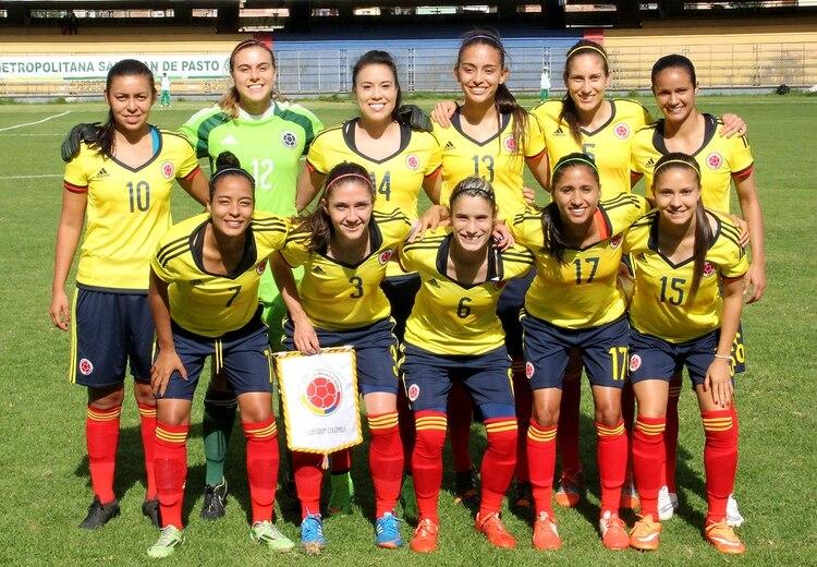 Resultado de imagen para seleccion femenina de futbol colombia