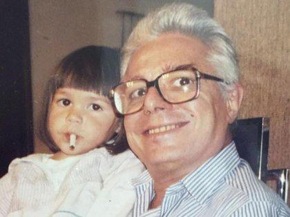 La foto que Frida compartió en respuesta a los duros comentarios de su abuelo