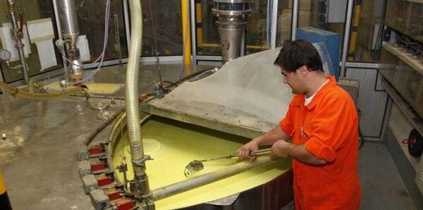 El proceso de tratamiento del uranio. Foto: Dioxitek.