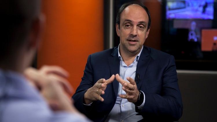 El candidato de Cambiemos, José Corral, estuvo lejos de los resultados obtenidos por Miguel del Sel en 2015. (Crédito: Santiago Saferstein)