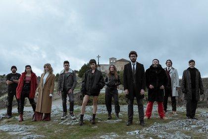 El elenco de la tercera temporada de la serie