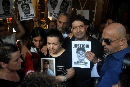 La madre de Fernando Báez pidió una convocatoria masiva a la marcha del martes (Nicolás Stulberg)