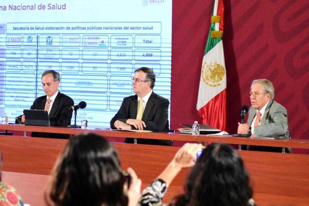 La tarde de este lunes, Marcelo Ebrard, a través del Consejo de Salubridad General, declaró estado de Emergencia Sanitaria Nacional por causa de fuerza mayor (Foto: Cortesía)