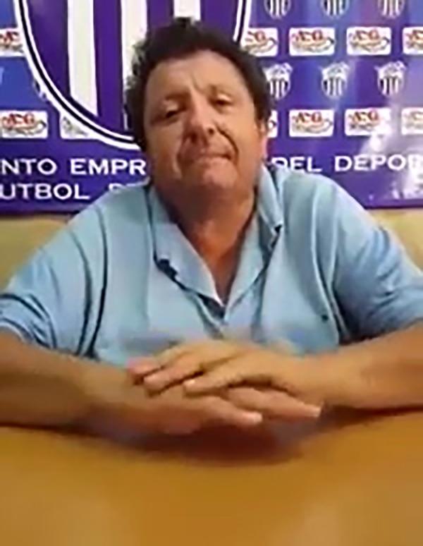 Antonio González, presidente de Rubio Ñu de Luque