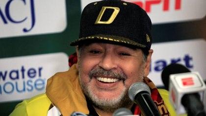 Maradonale dedicó el triunfo a Maduro(Foto: Reuters)