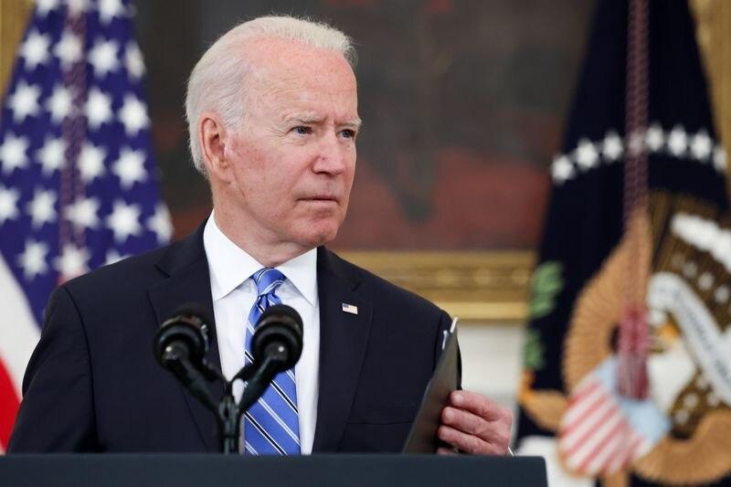 Foto del lunes del Presidente de EEUU, Joe Biden, hablando en la Casa Blanca.  Jul 19, 2021.  REUTERS/Jonathan Ernst