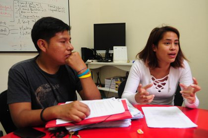 David y Mariana forman parte del programa Guía Egreso