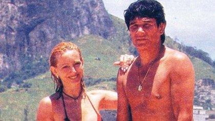 Alicia Muñiz y Carlos Monzón