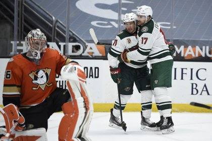 Marcus Foligno, extremo izquierdo de Minnesota Wild, juega en la NHL desde la temporada 2011/12 (Foto: USA TODAY Sports)