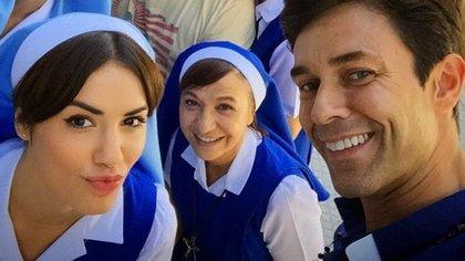 Lali Espósito, Gipsy Bonafina y Mariano Martínez en Esperanza Mía