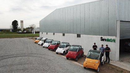 La gama de Sero Electric en la planta de la localidad de Castelar