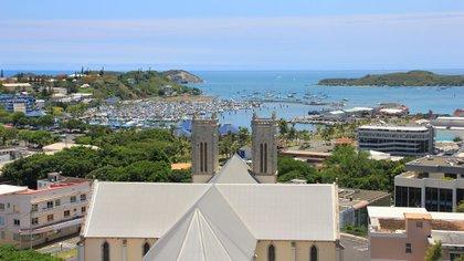 La catedral de Numea, Nueva Caledonia (Shutterstock)
