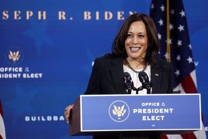 La vicepresidente electa de EEUU, Kamala Harris