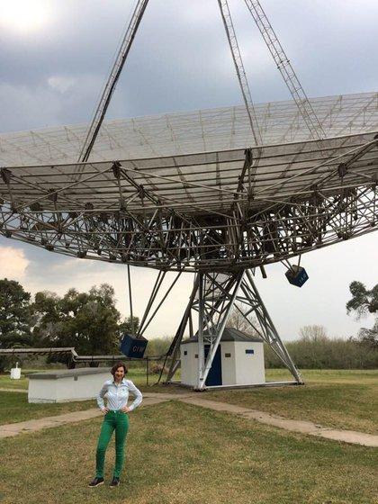 El 30 de septiembre, luego de más de 10 años de reconstrucción y puesta a punto, el Radiotelescopio está de vuelta en funcionamiento.