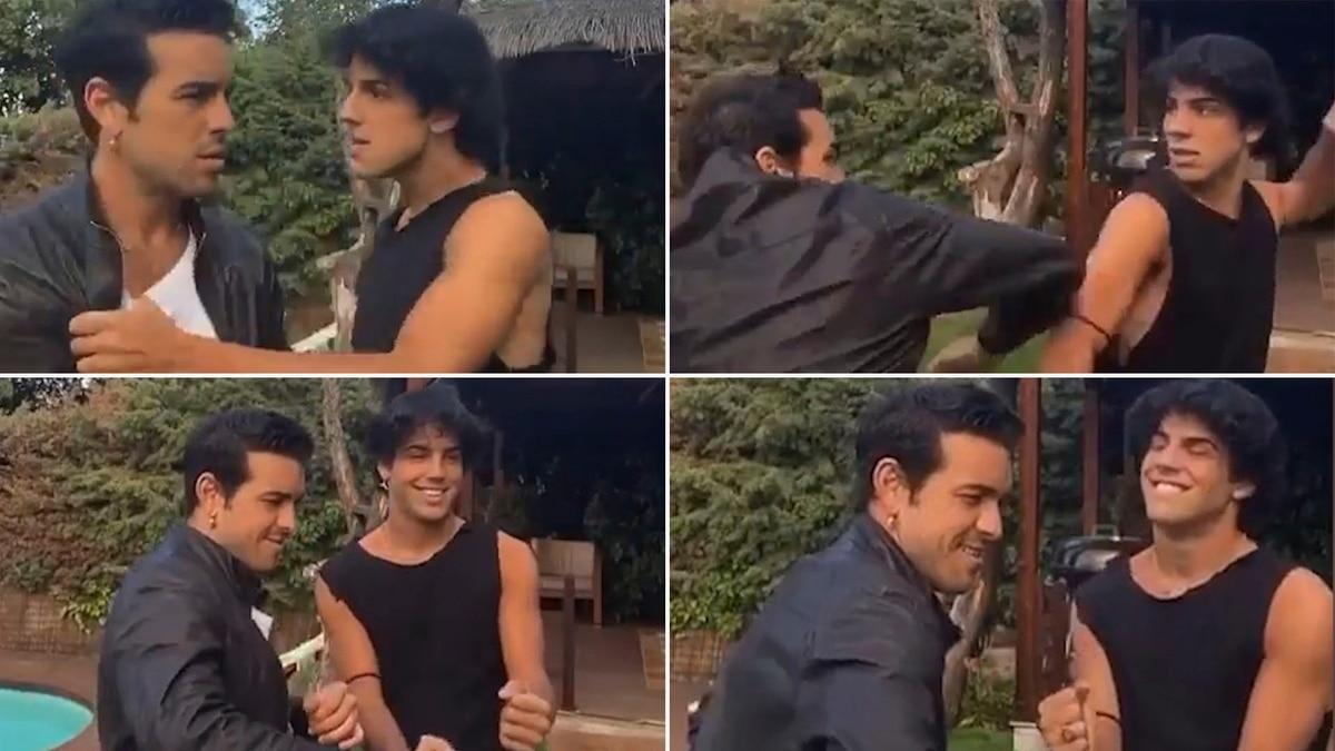 """El """"twerking"""" del español Mario Casas que se convirtió en furor en las redes - Infobae"""