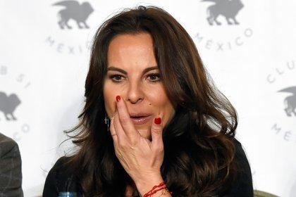 Kate del Castillo reveló el abuso que sufrió 14 años después de su divorcio (Foto: ALFREDO ESTRELLA / AFP)