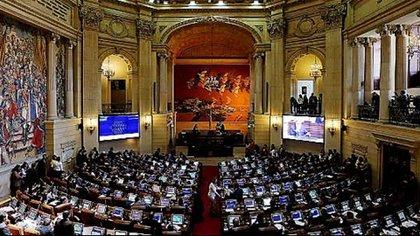 El Congreso de Colombia. (EFE)