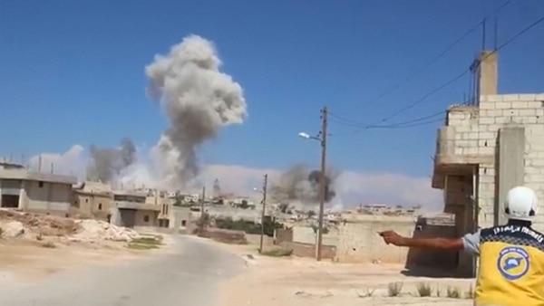 El régimen sirio y la fuerza aérea rusa intensifican los bombardeos sobre Idlib