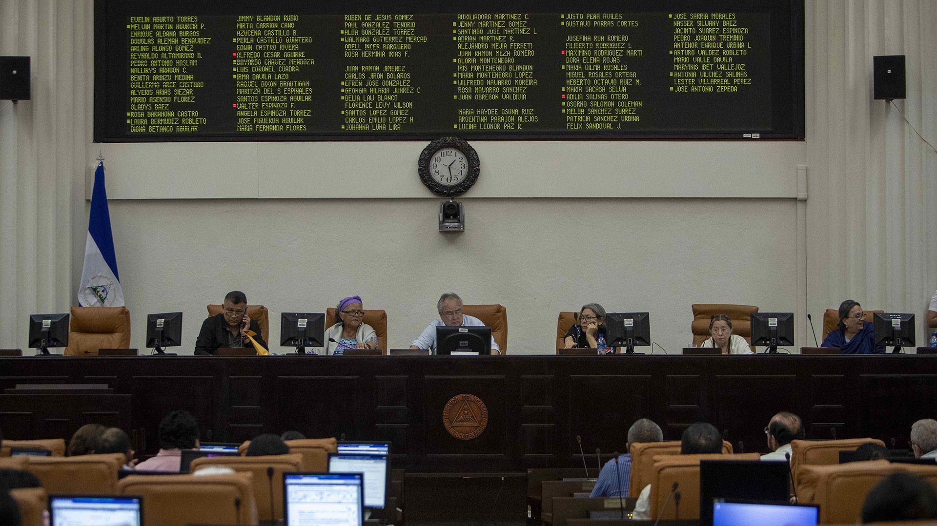 Militares de Cuba, Rusia, Venezuela y Estados Unidos fueron autorizados este martes por el Parlamento de Nicaragua para que ingresen al país en julio (EFE/Jorge Torres)