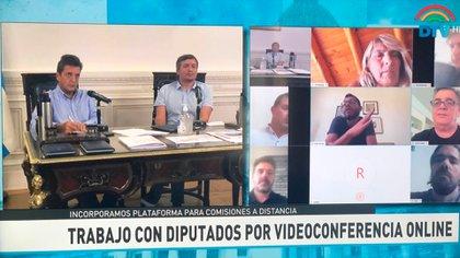 La última reunión de Labor Parlamentaria fue a través de una videoconferencia