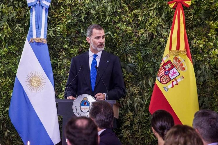 El Rey de España, Felipe VI (Roberto Almeida Aveledo)