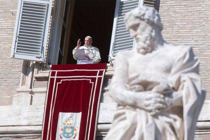 El Papa Francisco recibió a una delegación de jugadores en el Vaticano -EFE