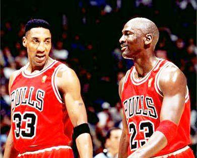 Scottie Pippen y Michael Jordan ganaron seis anillos de la NBA