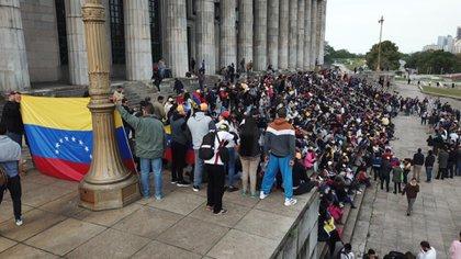 La convocatoria contra el régimen de Nicolás Maduro se realiza todos los años