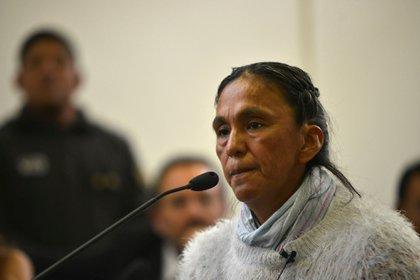 En la imagen, la activista argentina Milagro Sala. EFE/Edgardo Valera/Archivo