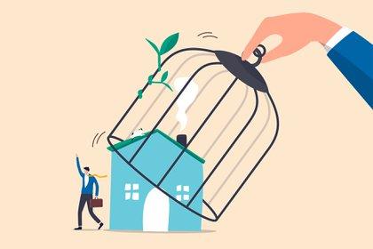 La extensión y endurecimiento de la cuarentena en el país y especialmente en la región del AMBA (Área Metropolitana de Buenos Aires) desde el miércoles 1 de julio hasta el viernes 17, fue comunicada como una medida eficaz frente al incremento de contagios y muertes que atravesó el país en las últimas dos semanas (Shutterstock)
