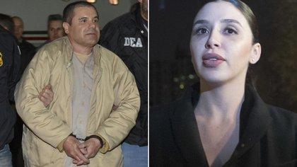 "Joaquin ""El Chapo"" Guzmán and his wife, Emma Coronel (Reuters)"