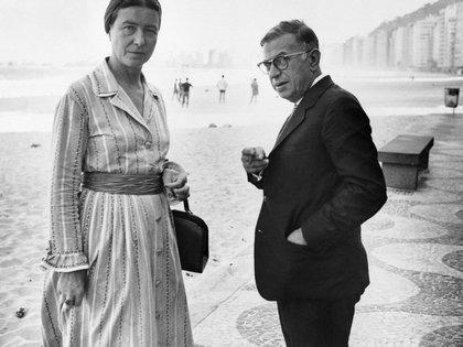 Simone de Beauvoir y Jean-Paul Sartre también firmaron la petición