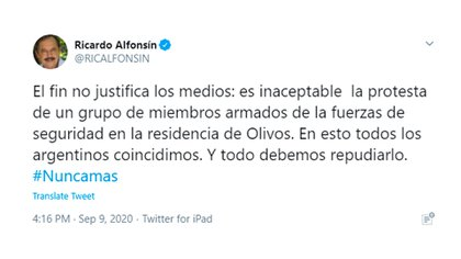 Ricardo Alfonsín - @RICALFONSIN
