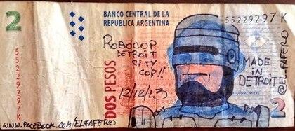 El protagonista de la icónica película de 1987 Robocop