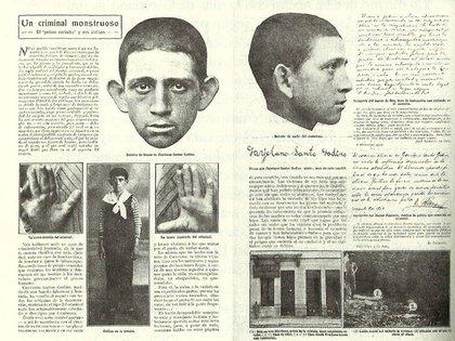 El conmocionante caso del Petiso Orejudo en los diarios