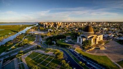 La nueva sede de Copa Argentina está a pocas cuadras del Santuario de la Virgen de San Nicolás
