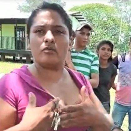 Una habitante que también denuncia lo sucedido en Apure