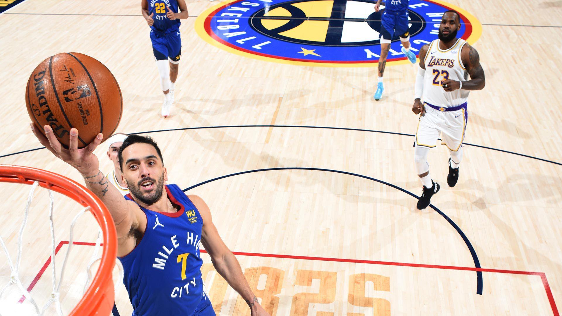 Campazzo vs los Lakers