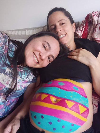 Coty de 35 semanas de embarazo