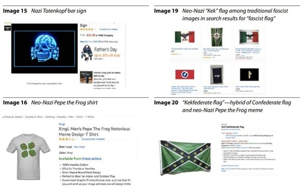 Amazon eliminó productos con símbolos nazis - Infobae