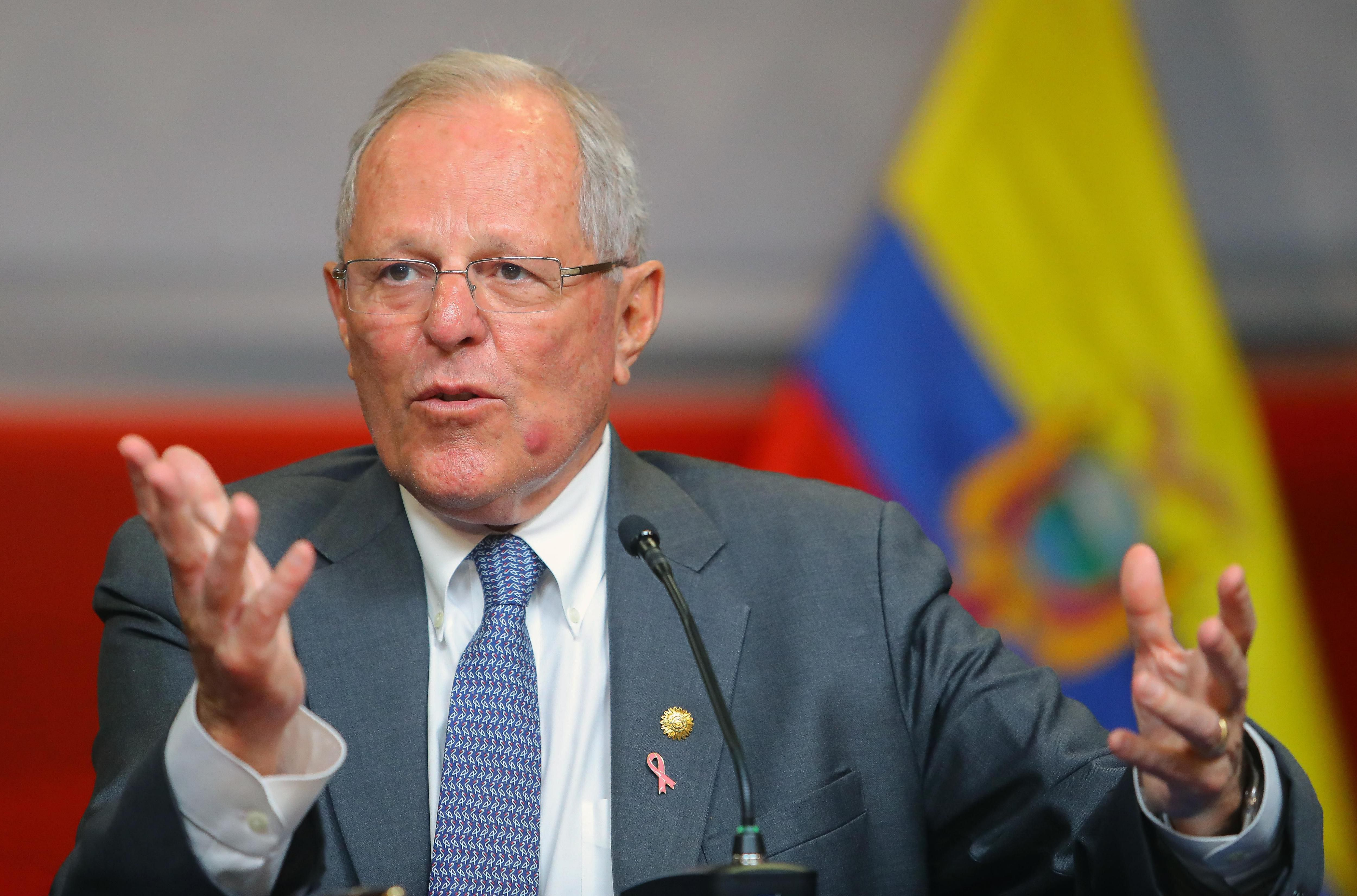 En la imagen, el expresidente peruano Pedro Pablo Kuczynski. EFE/Stringer