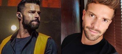 Ricky Martin fue de los primeros en aplaudir públicamente la confesión de Pablo Alborán (Foto: Instagram@pabloalboran/@ricky_martin)